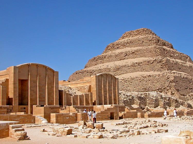 The Step Pyramid of Djoser - Ancient History Encyclopedia