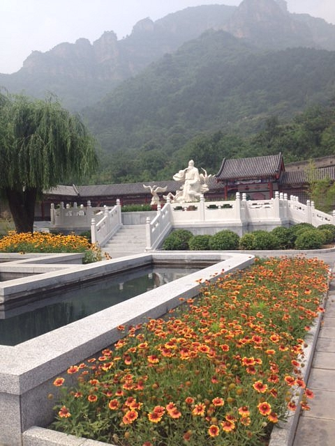 Mao's Garden at the Great Wall of China