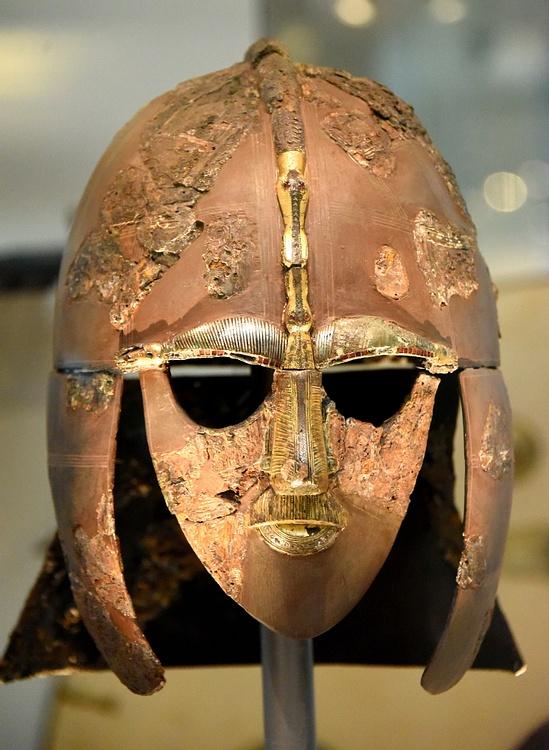 The Sutton Hoo Helmet Illustration Ancient History