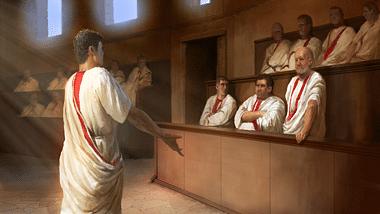 Políticos romanos (La Asamblea Creativa)