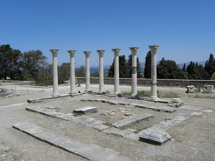 Temple of Apollo, Asclepeion, Kos (Tedmek)