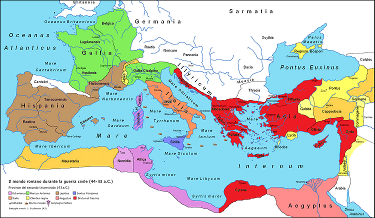 Division of the Second Triumvirate (ColdEl)
