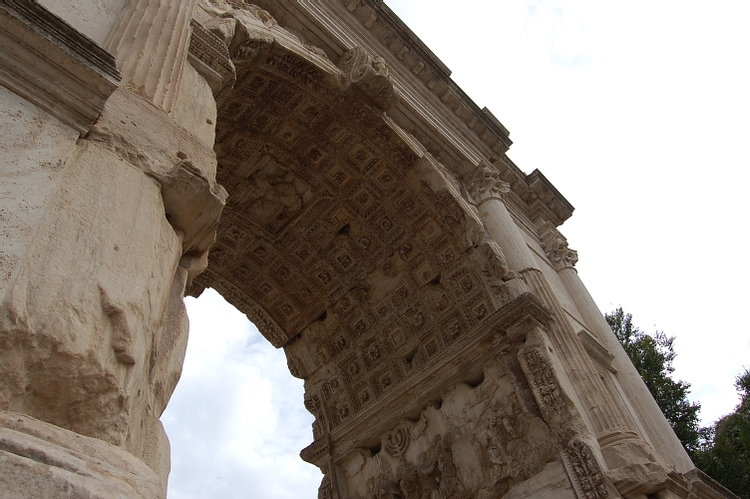 Detail of the Arch of Titus