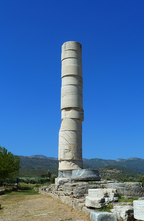 Coluna do Heraion, Samos (Kramer96)