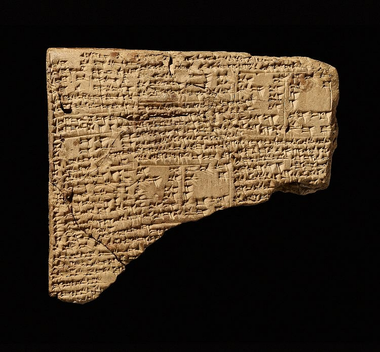 Babylonian Cuneiform Lexical List