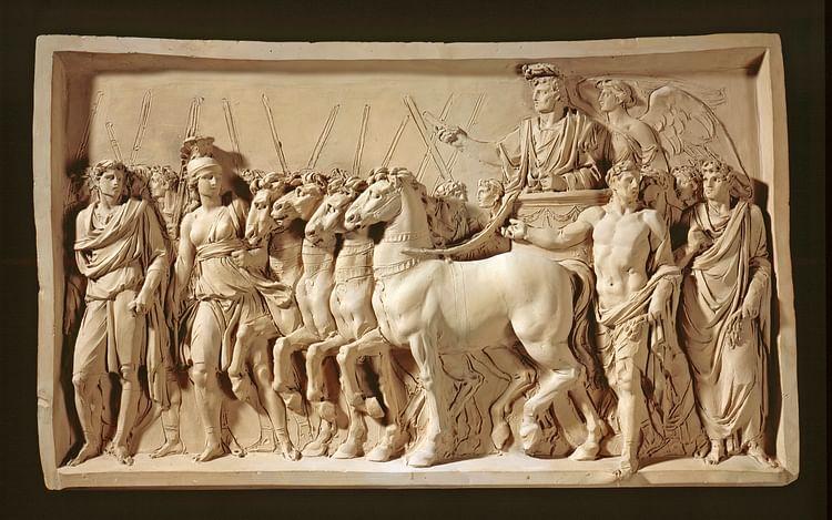 Triunfo de Titus (Jean-Guillaume Moitte (Artista))