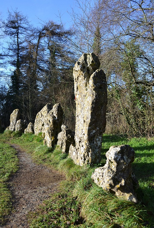 The King'S Men Stone Circle, The Rollright Stones ... |Rollright Stones Oxfordshire