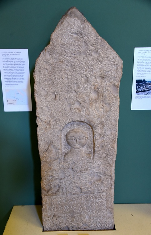 Carthaginian Tombstone for Gemellus