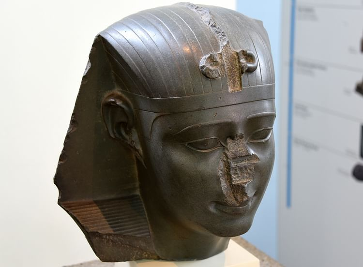 Head of King Nectanebo I or II ()
