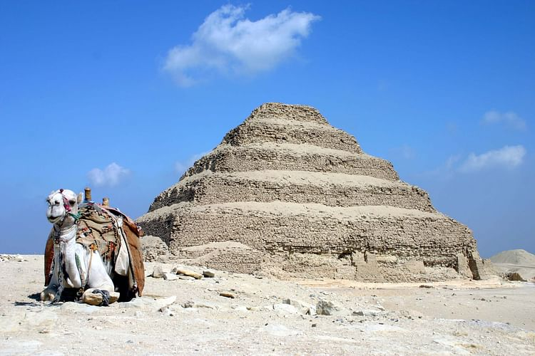 Step Pyramid of Saqqara (Charlesjsharp)