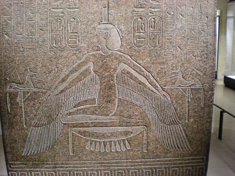 Ma'at Sarcophagus Lid