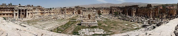 The Temple Complex at Baalbek