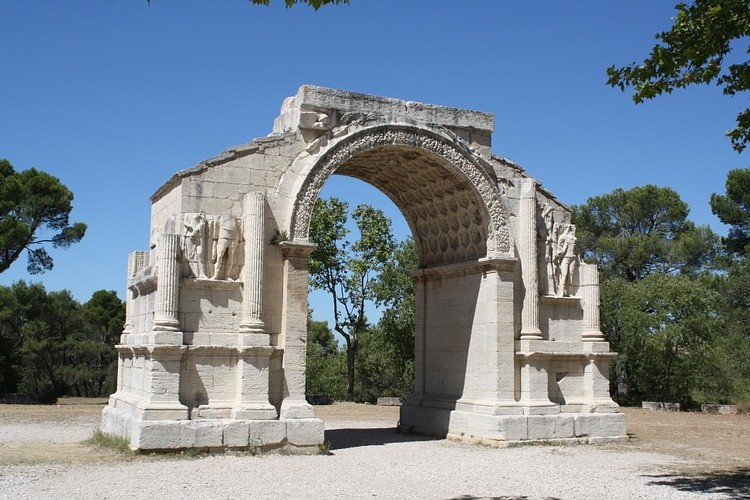 Arco monumental, Glanum ()