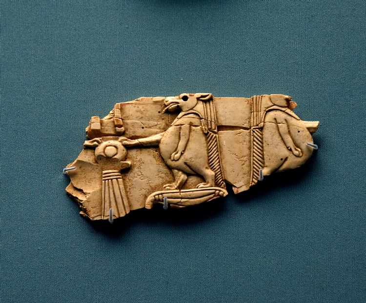 Nimrud Ivory Panel of Tawaret