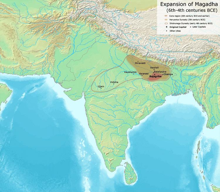 Magadha Kingdom - Ancient History Encyclopedia