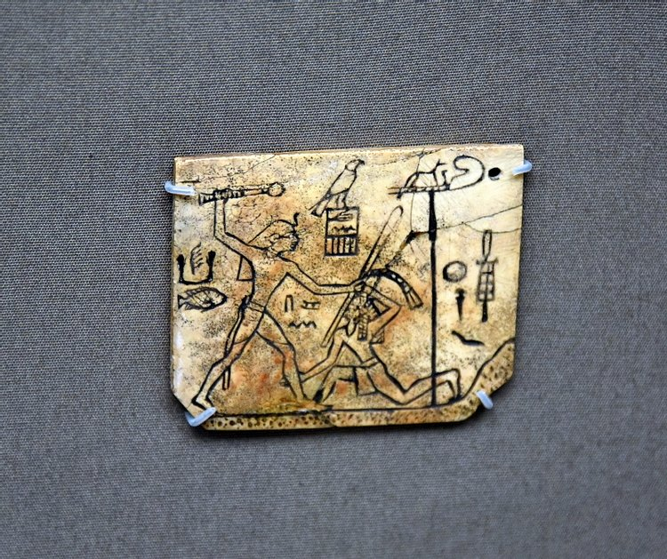 Sandal Ivory Label of Pharaoh Den