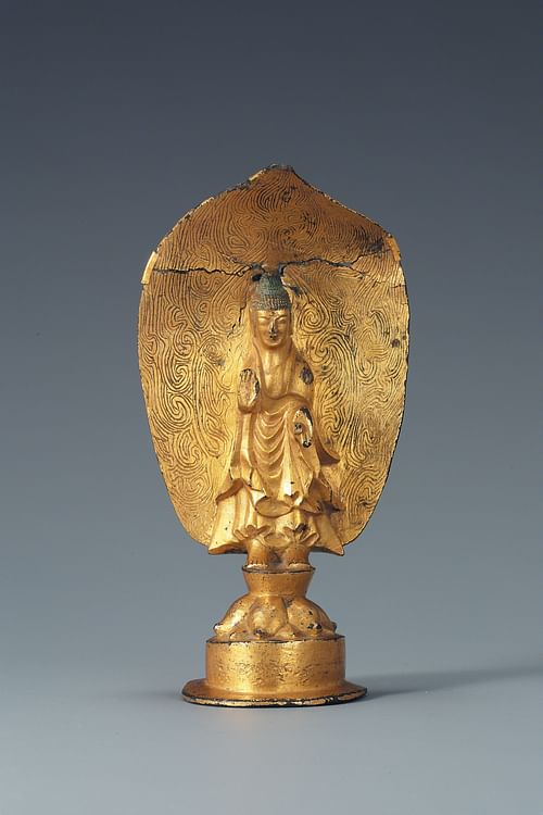 Gilt-bronze Buddha, Goguryeo Kingdom