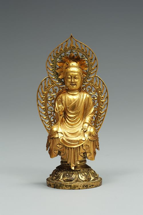 Unified Silla Kingdom Gold Buddha