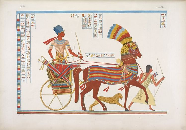 Egyptian War Chariot (Unknown)