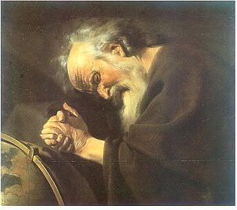 Heráclito de Efesos (Johannes Moreelse)