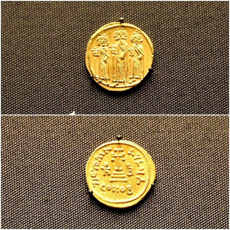Byzantine coins of Heraclius