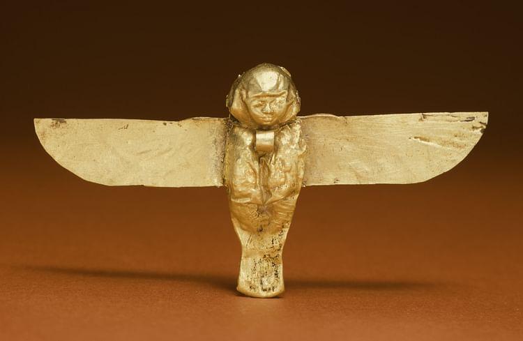 Amuleto Ba egipcio a Ward Off Evil (Museo de Arte Walters)