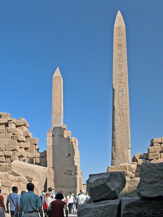 Obeliscos egipcios, Karnak (Dennis Jarvis)