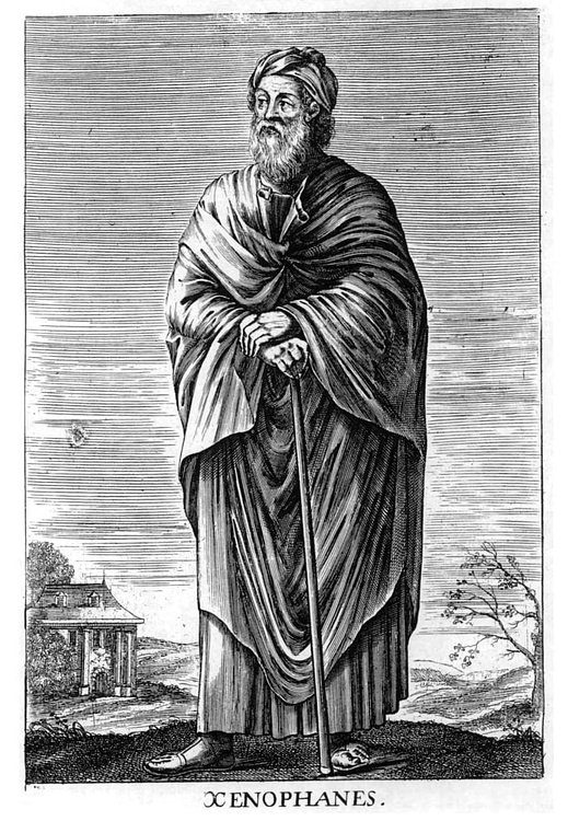 Xenophanes of Colophon (Unknown Artist)