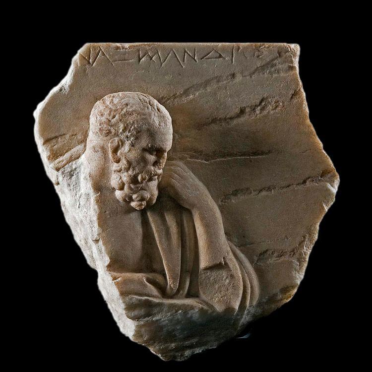 Anaximandro de Mileto (Artista Desconocido)