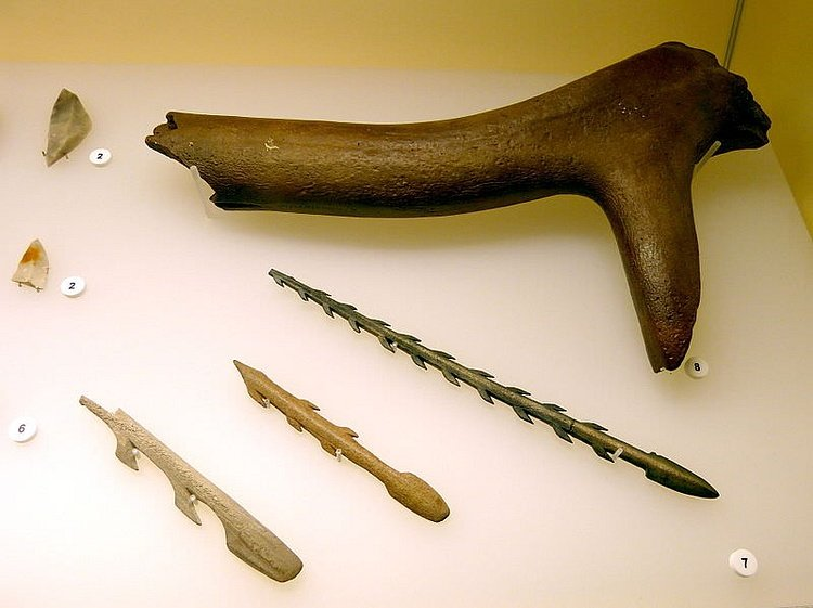 Mesolithic Harpoons & Lyngby Axe