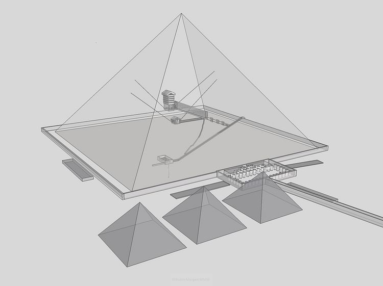 Interior Design, Great Pyramid of Giza