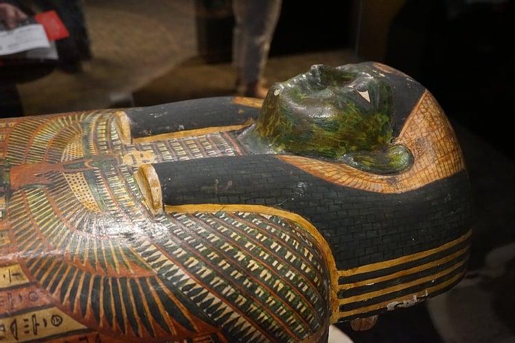 coffin of pedi osiris