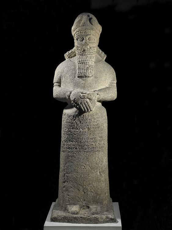Attendant God Dedicated to Nabu (The Trustees of the British Museum)