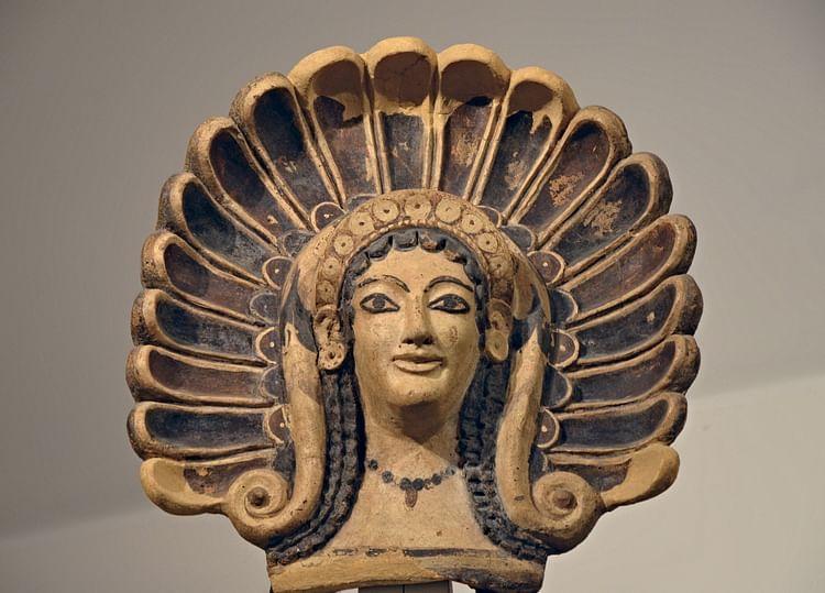 Etruscan Maenad Roof Tile (Carole Raddato)