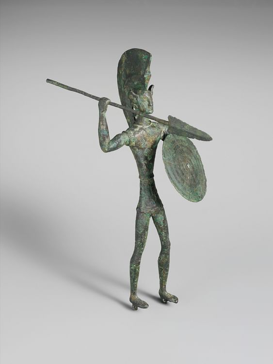 Etruscan Bronze Warrior (Metropolitan Museum of Art)