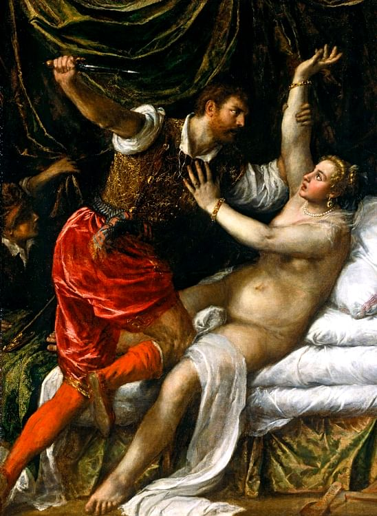 Rape of Lucretia (Titian)