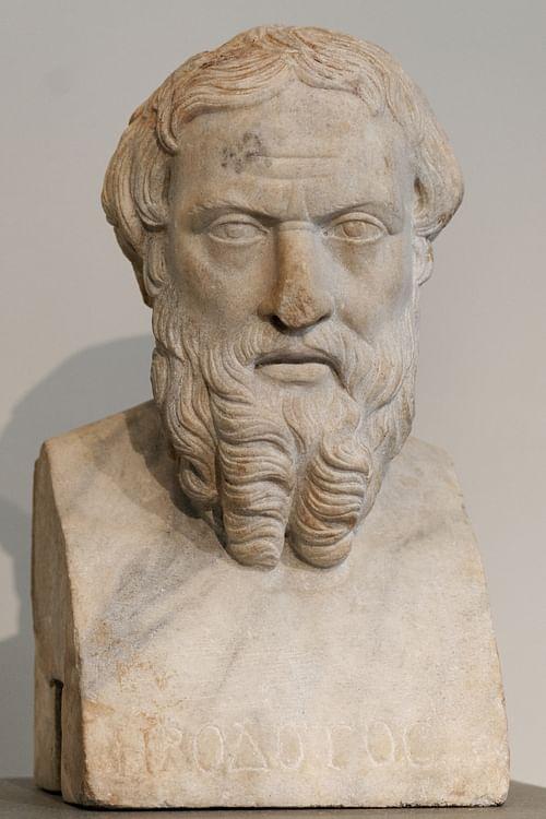 Herodoto (Fotografía de Marie-Lan Nguyen)