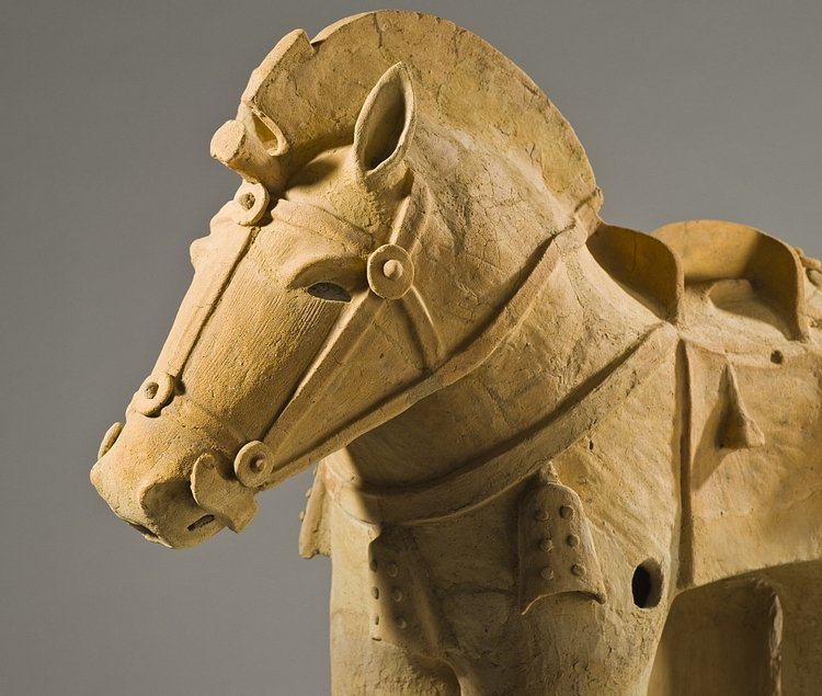 Haniwa Horse (Ashley Van Haeften)