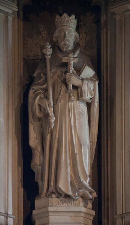 Oswald of Northumbria (Fr Lawrence Lew, O. P.)
