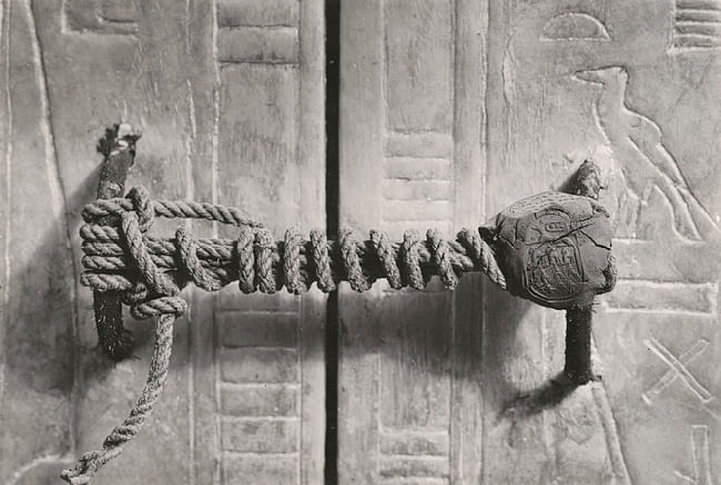 Seal of Tutankhamun's Tomb