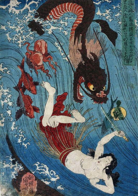 Ryujin (Utagawa Kuniyoshi)