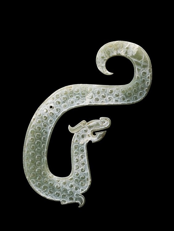 Zhou Dynasty Jade Dragon