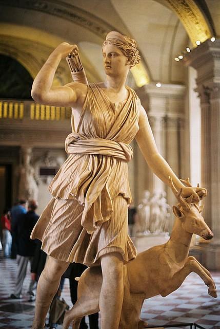 Диана древнегреческая