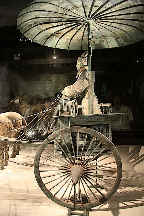 Chinese Qin Chariot