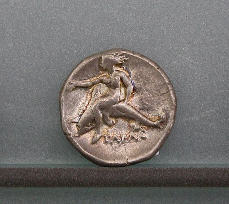 Silver Stater of Tarentum (Jehosua)