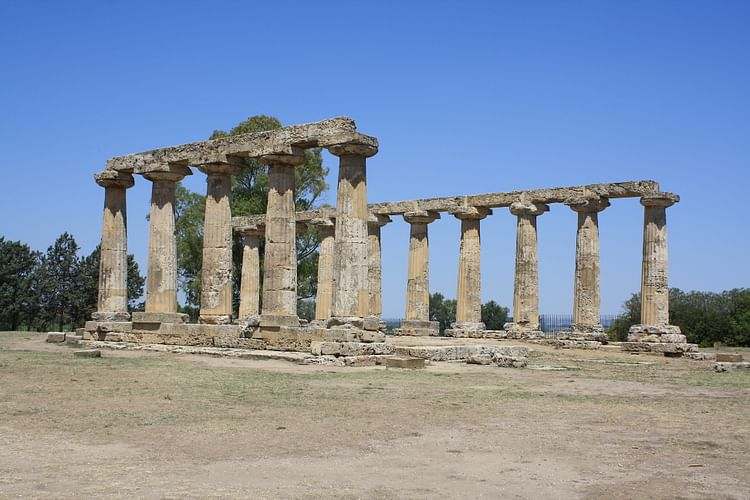 Temple of Hera, near Metapontum ()