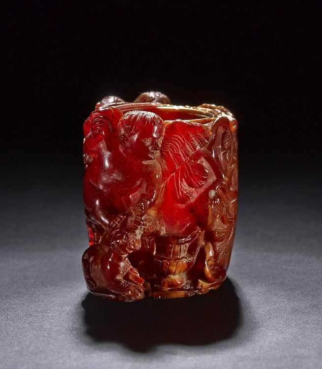 Roman Amber Perfume-pot (The British Museum)
