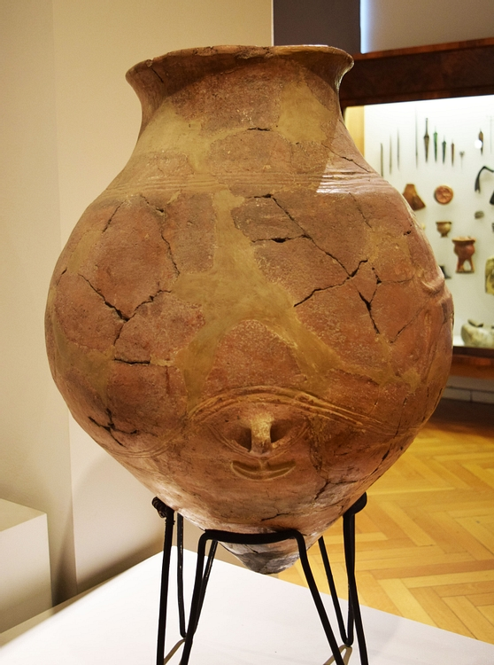 Ancient Clay Vessel from Georgia