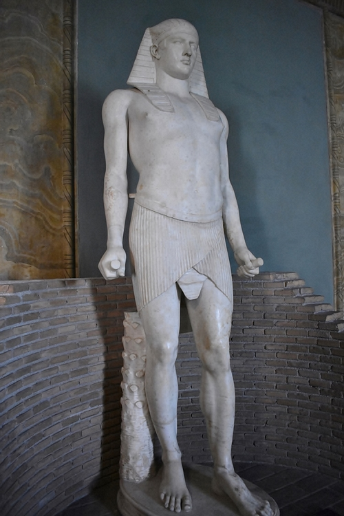 Statue Of Osiris Antinous Illustration Ancient History
