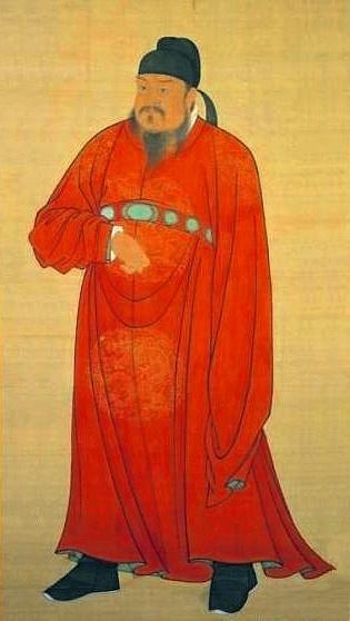 El emperador Gaozu de Tang (Artista Desconocido)